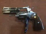 "Colt Python .357 ( Nickel Finish ) 4"" barrel appears to be Un-Fired"