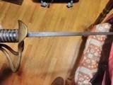Confederate Calvary Sword