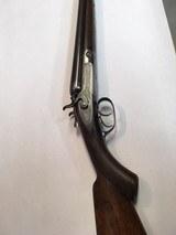 Parker Bros. 12 GA, 1872 Damascus side by side 32 inch barrel, Double Hammer