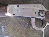 Winchester Model 94 John Wayne 32-40 w/leather scabbard aand gun rack - 9 of 15
