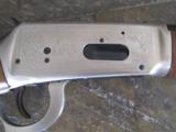 Winchester Model 94 John Wayne 32-40 w/leather scabbard aand gun rack - 4 of 15