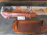 Winchester Model 94 John Wayne 32-40 w/leather scabbard aand gun rack - 14 of 15