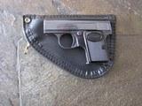 Baby Browning 25 ACP pistol