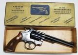 "Smith & Wesson K-22 Masterpiece - 6""barrel"