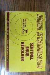 HIGH STANDARD SENTINEL SNUB/R-108