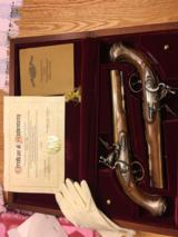 George Washington Flintlock Pistol Set