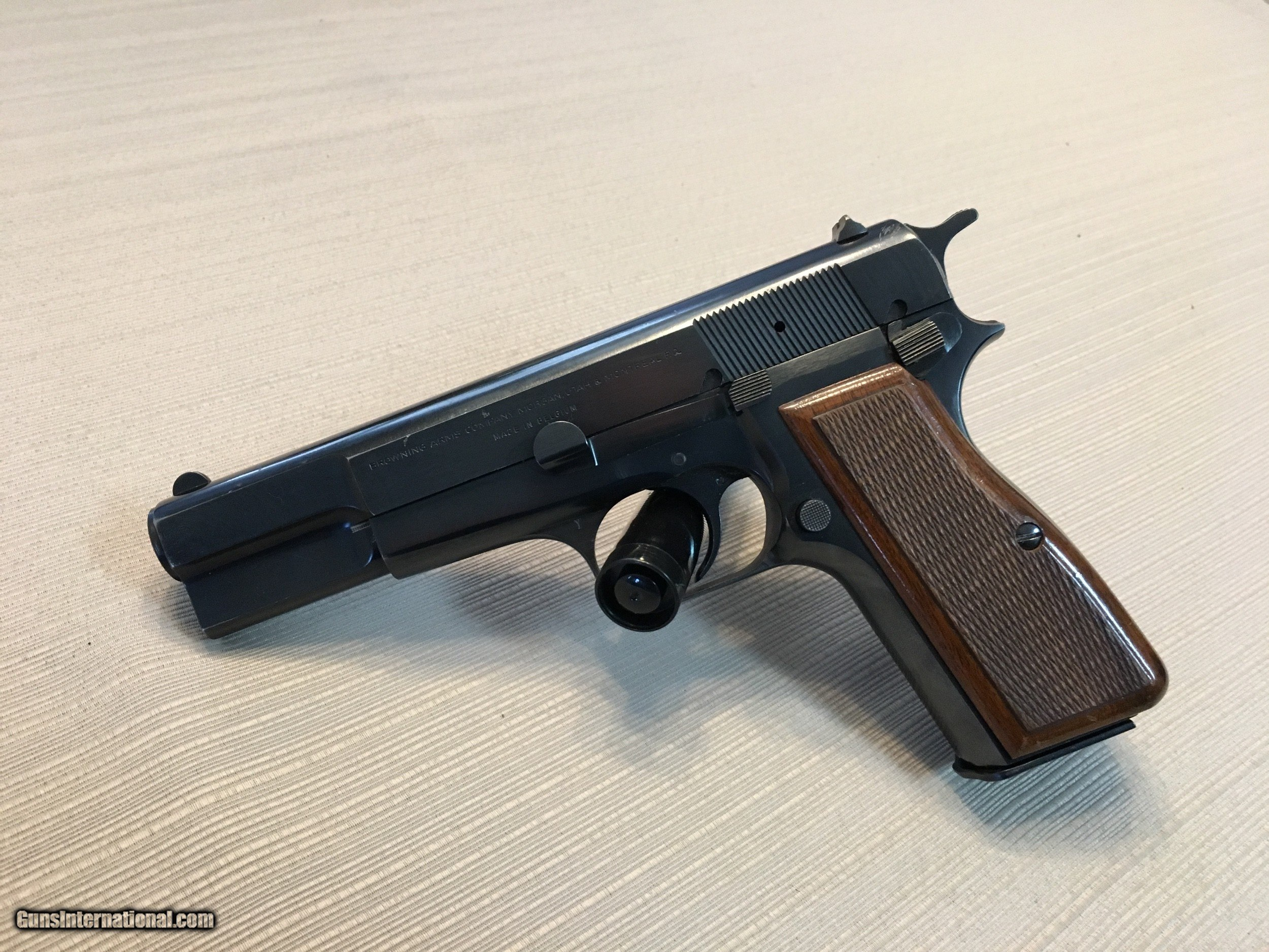 1976 Browning Hi-Power 9mm c series with extras