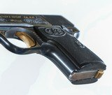 Walther Model 5, Gold Inlaid Pocket Pistol - 4 of 8