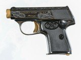 Walther Model 5, Gold Inlaid Pocket Pistol - 2 of 8