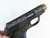 Walther Model 5, Gold Inlaid Pocket Pistol - 3 of 8