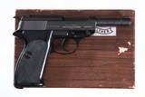 Walther P38 Pistol 7.65mm