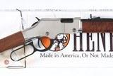 Henry Silver Boy Lever Rifle .22 sllr