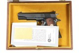 Colt Gold Cup National Match Blue NRA Series 70 .45 ACP
