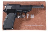 Walther P38 9mm Boxed Excellent