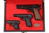 Browning 3pc Pistol set Blue High Power