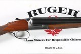 Ruger Gold Label 12ga SxS Shotgun Factory Boxed