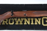 Browning 52 Sporting Bolt Rifle .22 lr Factory Boxed - 1 of 14