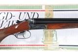 Simson & Co. Boxlock SxS Shotgun 12ga - 1 of 17