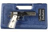 Colt Lew Horton Goverment Pistol .45 ACP