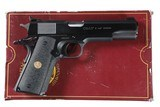 Colt Custom 1 of 1000 Government .45 ACP