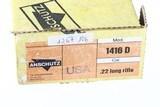 Anschutz 1415-1416 Bolt Rifle .22 lr - 3 of 16