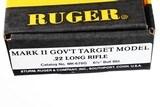 Ruger Mark II Target Pistol .22 lr - 12 of 13