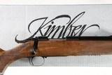 Kimber 84 Super America Bolt Rifle .223 rem