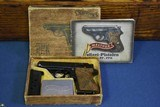 "WALTHER PPK PISTOL……WARTIME POLICE ""EAGLE C"" VARIANT……… NEW IN MATCHING BOX WITH GIBLETS"