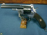 "ULTRA RARE MAUSER MODEL 1878 ""ZIG ZAG"" MILITARY REVOLVER IN 10.6mm…….STUNNING CONDITION!!!"