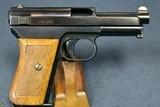 VERY RARE DEUTSCHE REICHSBAHN DIENST (NAZI RAILWAY POLICE) EARLY MAUSER MODEL 1914/34 PISTOL - 2 of 12