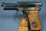 VERY RARE DEUTSCHE REICHSBAHN DIENST (NAZI RAILWAY POLICE) EARLY MAUSER MODEL 1914/34 PISTOL