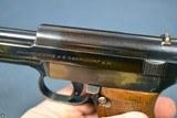 VERY RARE DEUTSCHE REICHSBAHN DIENST (NAZI RAILWAY POLICE) EARLY MAUSER MODEL 1914/34 PISTOL - 6 of 12