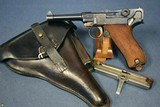 1929 MAUSER SNEAK LUGER RIG…….PRUSSIAN POLICE MARKED 2 MATCHING MAG RIG…….LANDES POLIZEI FRANKFURT AM ODER