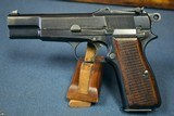 1939 PRE WAR BELGIUM ARMY ISSUED TYPE 1 FN MODEL 1935 HI POWER PISTOL…..THE ORIGINAL HI POWER!