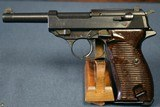 "WALTHER ac 45 P.38 PISTOL….. MATCHING 1945 ""b"" LETTER BLOCK…..COG HAMMER….RARE FNH BARREL…..MINT!"