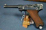 "SCARCE 1939 MAUSER BANNER POLICE ""EAGLE/L"" LUGER…1 MATCHING MAG…..MINT SHARP!"