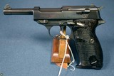 WALTHER HP HEERES PISTOLE P.38… EARLY WAR PRODUCTION…….VERY SCARCE……MINT CRISP!