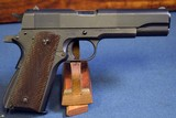 US WW2 ITHACA 1911A1 PISTOL November, 1943 PRODUCTION…….MINT CRISP! - 2 of 11