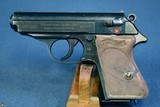 "WALTHER PPK PISTOL……LATE WAR POLICE ""EAGLE C""………ULTRA RARE AND DESIRABLE GRAY GRIP!"
