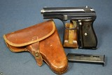 CZECH ARMY 1937 Cz24 PISTOL………LUFTWAFFE ISSUED WITH ULTRA RARE 1940 DATED KRIEGHOFF MADE LUFTAMTED HOLSTER……..HUGE DEAL!!!