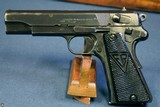 EARLY NAZI SLOTTED ViZ 35 RADOM PISTOL……… D BLOCK LATE SLOTTED…. NICE!