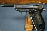 EXCEPTIONAL EXTREMELY RARE WALTHER 480 CODE P.38 PISTOL………NEARLY IMPOSSIBLE TO LOCATE THIS NICE!