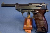 ULTRA RARE WALTHER ZERO SERIES ac45 HEERES PISTOLE / P.38 PISTOL…..END OF WAR NAZI PRODUCTION……VERY SHARP
