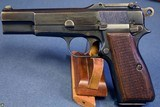 NAZI FN TANGENT SIGHT HI POWER EARLY WaA103 PROOFED VERY SHARP! - 1 of 9