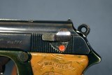 VERY SCARCE EARLY 1935 PRODUCTION LIGHTWEIGHT DURAL FRAME WALTHER PPK PISTOL……VERY SHARP!!! - 7 of 10