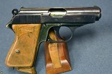 VERY SCARCE EARLY 1935 PRODUCTION LIGHTWEIGHT DURAL FRAME WALTHER PPK PISTOL……VERY SHARP!!! - 2 of 10