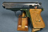 VERY SCARCE EARLY 1935 PRODUCTION LIGHTWEIGHT DURAL FRAME WALTHER PPK PISTOL……VERY SHARP!!! - 1 of 10