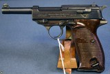 EXCEPTIONAL WALTHER MOD P38 COMMERCIAL P.38 PISTOL……EARLY 1944 PRODUCTION……A REAL EYE POPPER!!!