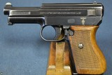 EXCEPTIONAL GERMAN KRIEGSMARINE MODEL 1934 MAUSER PISTOL WITH MATCHING MAG…….VARIATION 1….TOP EXAMPLE!