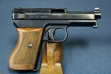 EXCEPTIONAL GERMAN KRIEGSMARINE MODEL 1934 MAUSER PISTOL WITH MATCHING MAG…….VARIATION 1….TOP EXAMPLE! - 2 of 12